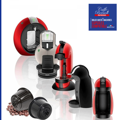 Bernini compatible capsules for Dolce Gusto machines