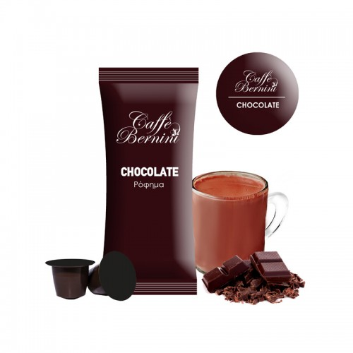 Chocolate flavoured soluble drink