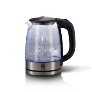 Electric glass kettle, Metallic Line